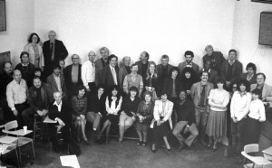 Hunter College Art Staff - 1980's