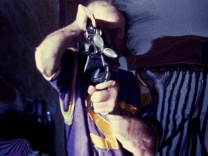 "Robert Huot - Mylar Reflection from ""1974-75 Diary Film"""