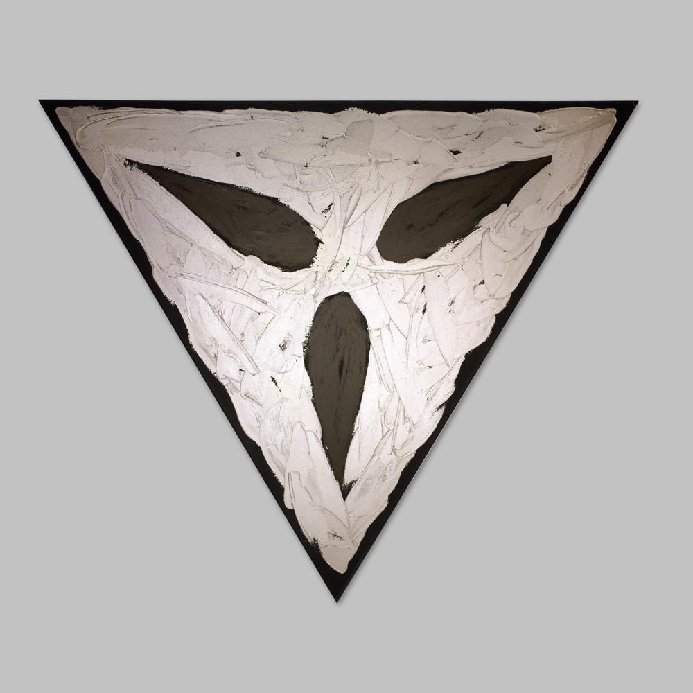 """Robert Huot - Deco Totem / 1996 / 81"""" x 93"""" (x3)"""