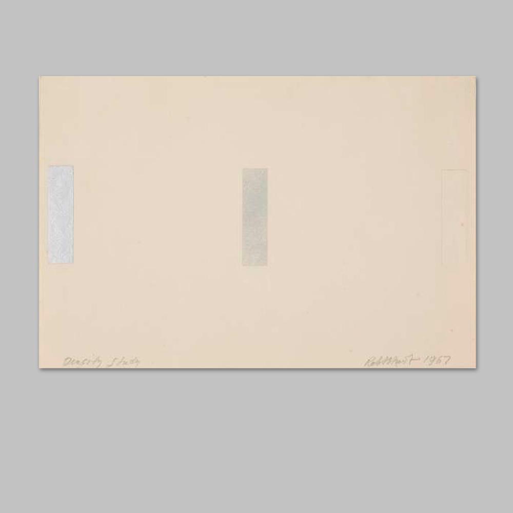 Robert Huot / Density Study / 1967