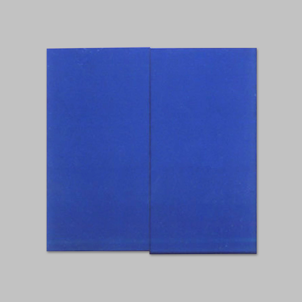 Robert Huot - Two Blue Suits / 1967 / Acrylic on Canvas