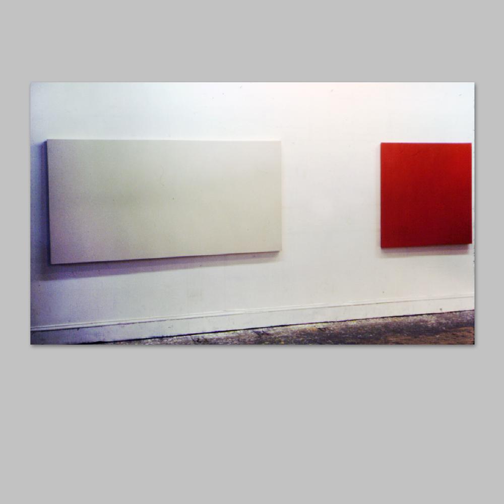 "Robert Huot - Untitled / 1966 / Acrylic on Canvas / 50"" x 200"""