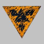 "Robert Huot - Defaced Totem UV / 1995 / 81"" by 93"" (x3)"