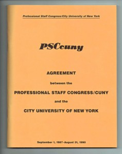 PSCcuny Agreement