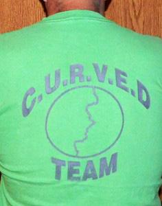CURVED-Team T-Shirt Design