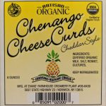 Chenango Cheese Project - Label