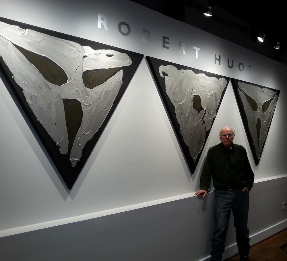Robert Huot - Opening at Alexander/Heath Contemporary - Roanoke, VA - March 2015