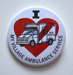New Berlin Village Ambulance Button